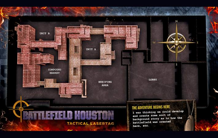 Battlefield Houston Map