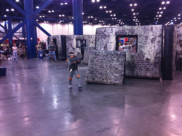 Laser Tag at the George R. Brown Convention Center