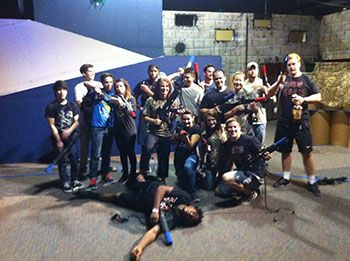 Battlefield Houston Group Corporate Teambuilding